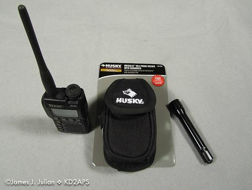 Amateur Radio Micro and Mini HT Case Ideas