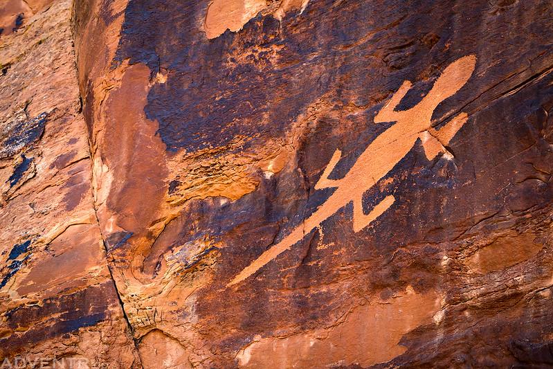 The Lizard Petroglyph