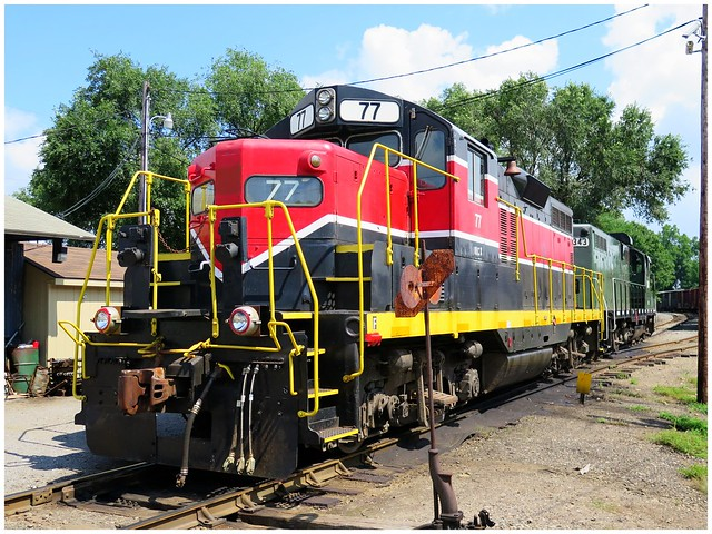 Youngstown & Southeastern Railroad Company #77 @ North Lima, Ohio