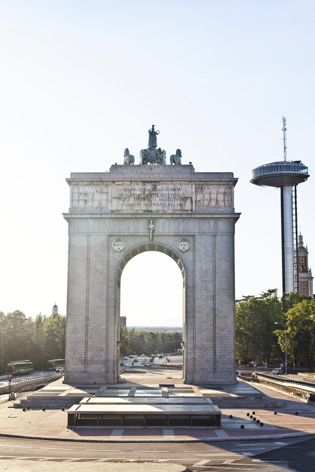 Piedra hecha arco, Arco de la Victoria