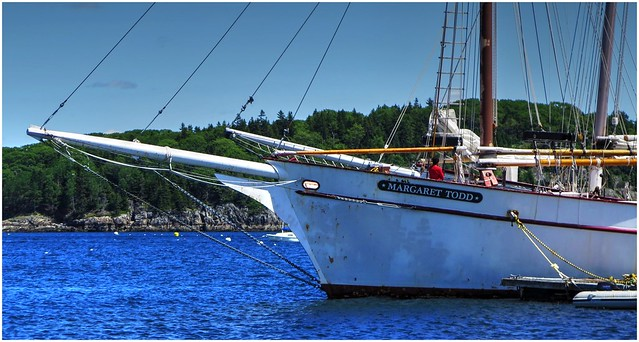 Tallship Margaret Todd @ Bar Harbor, Maine