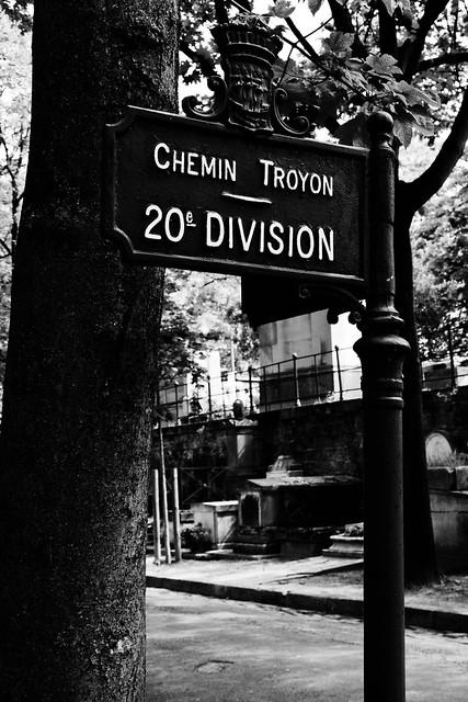 Chemin Troyon - 20è division