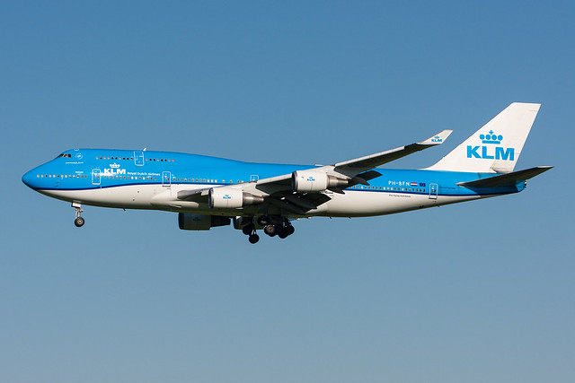 PH-BFN - KLM Royal Dutch Airlines - Boeing 747-406
