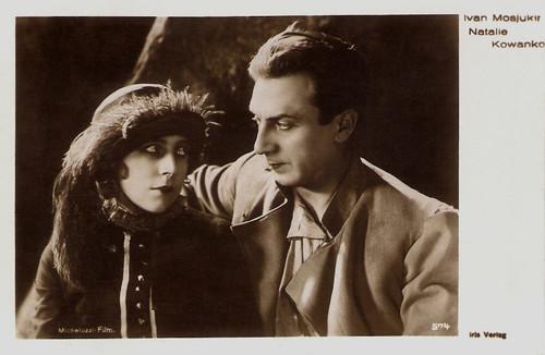 Ivan Mozzhukhin and Nathalie Kovanko in Michel Strogoff (1926)