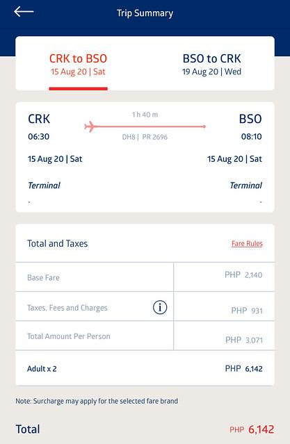 Philippine Airlines Promo Fare - Clark to Batanes roundtrip