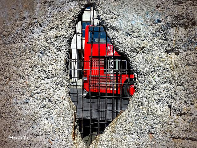Berlin Wall hole