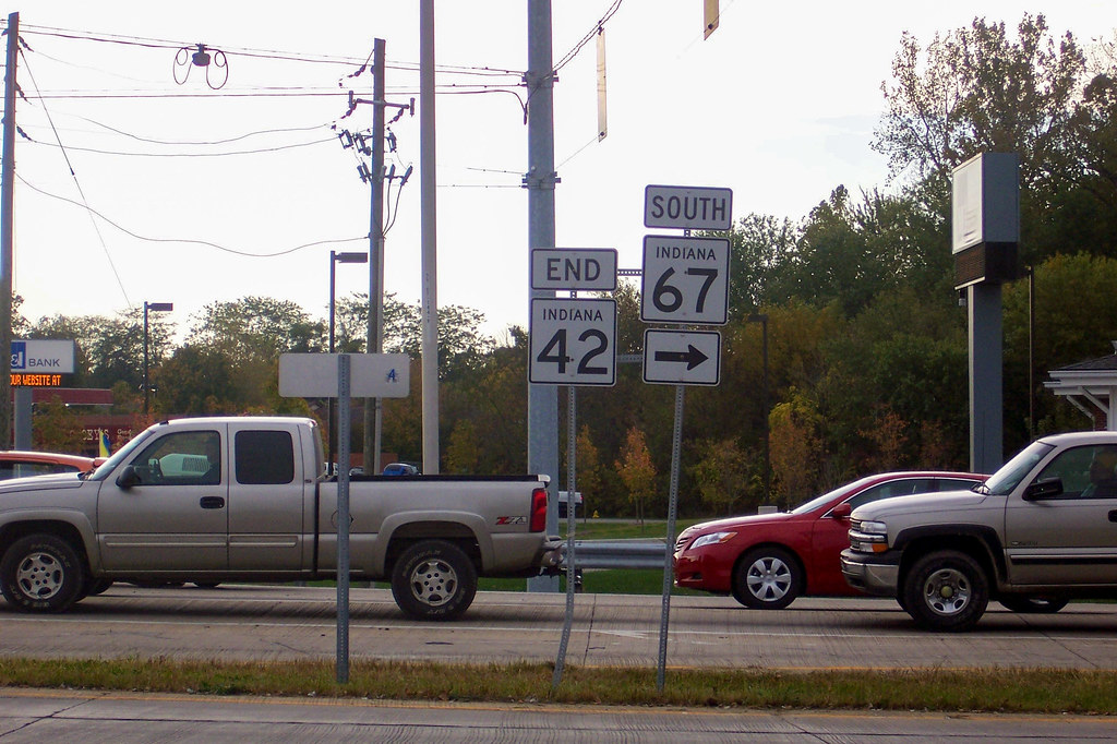 Eastern end of SR 42