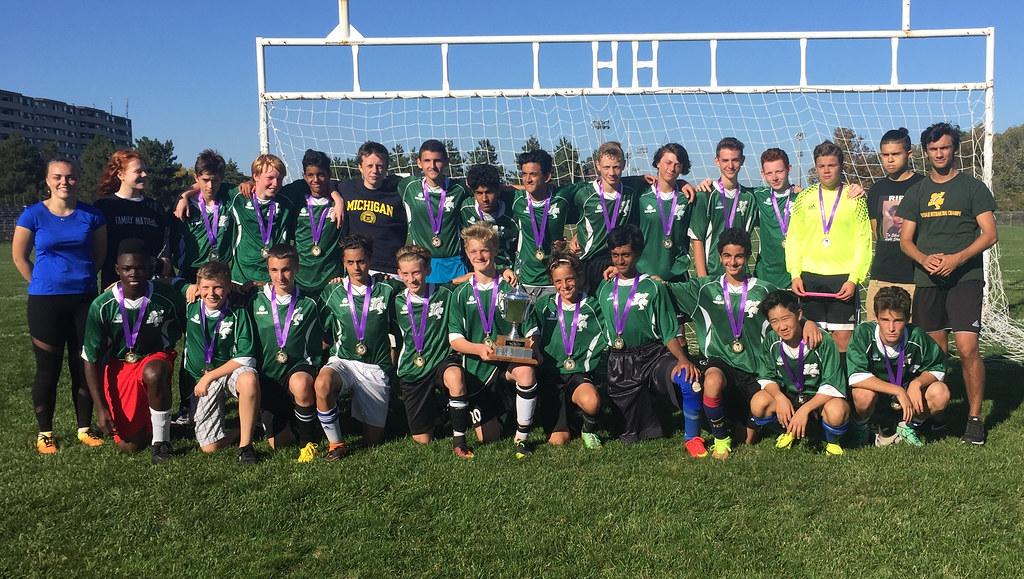 HWIAC Grade 9 Boys Soccer Champions - Photo Archive