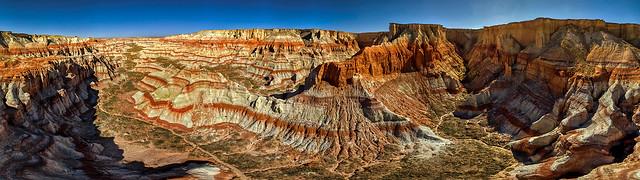 Coal Mine Canyon Panorama