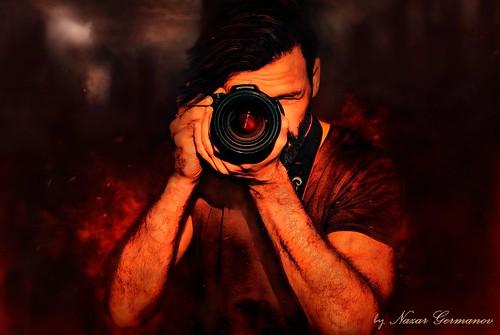 Art Photo: Reflection of War
