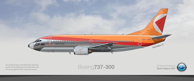 CP AIR 737-300