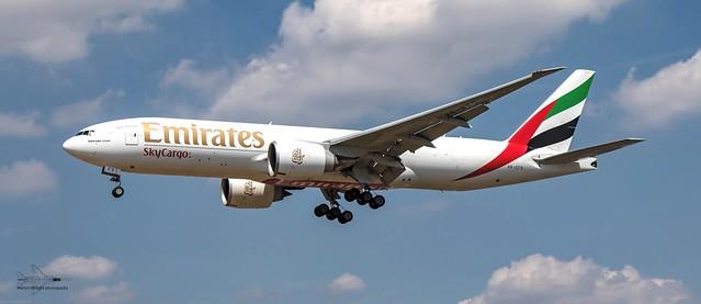 Emirates Boeing 777-200 SkyCargo
