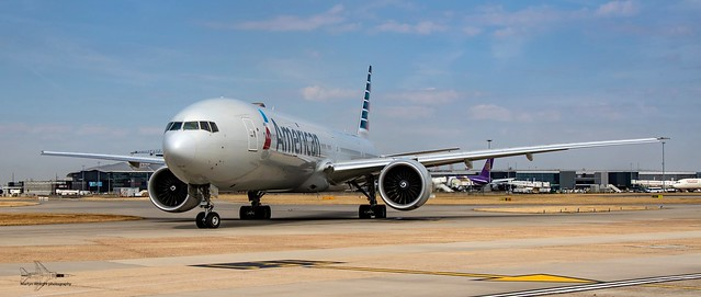 American Airlines Boeing 777-300 ER