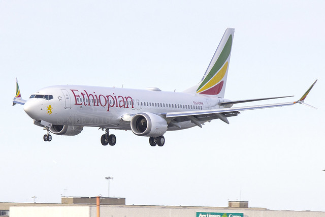 ET-AVM | Ethiopian Airlines | Boeing B737-8 MAX | CN 62446 | Built 2018 | DUB/EIDW 01/07/2018 | 1st Ethiopian Max on delivery flight