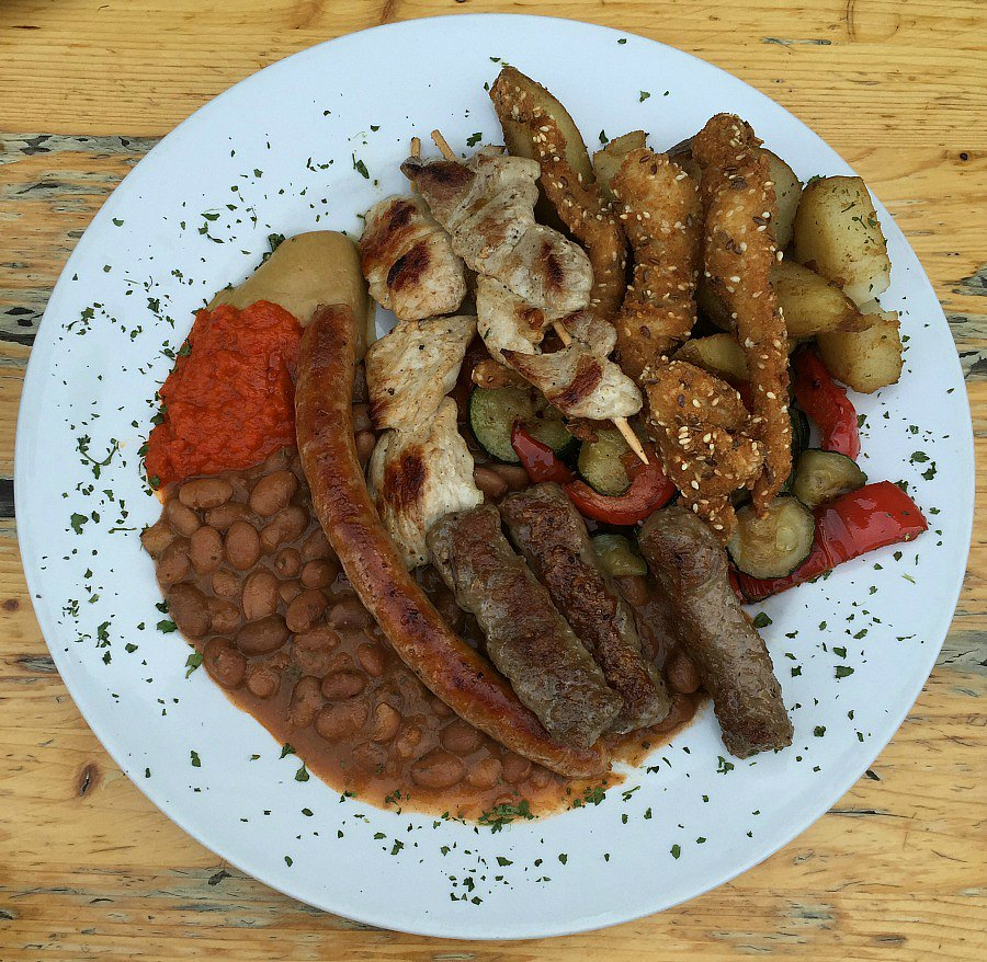 Croatian Food - Mixed Grill