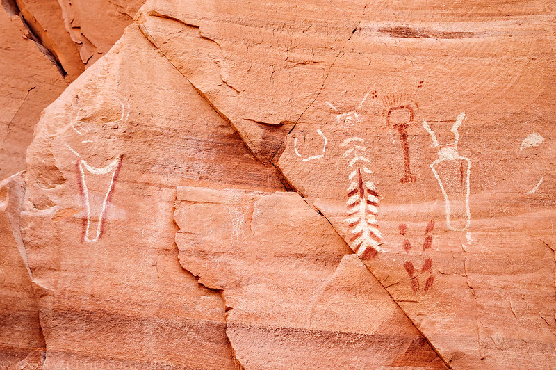 Coyote Gulch Pictographs
