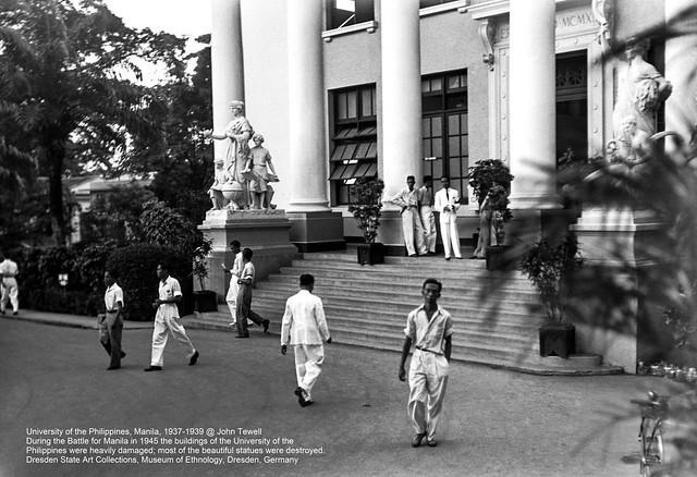 University of the Philippines, Manila, 1937-1939 (2)