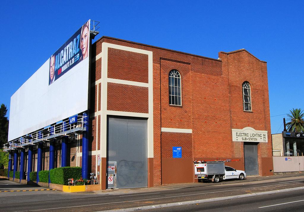 Electrical Substation No 72, Croydon, Sydney, NSW.
