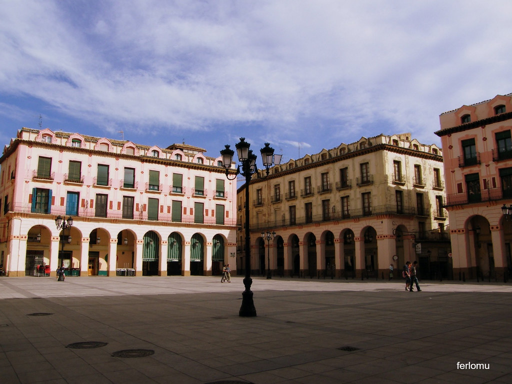 Huesca plaza Mayor