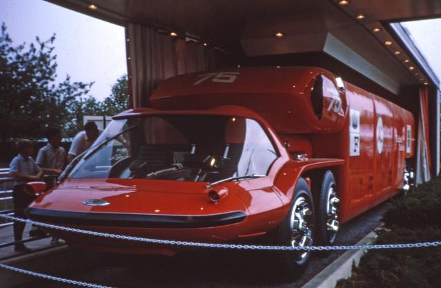 GM future truck - Bison concept - turbine power