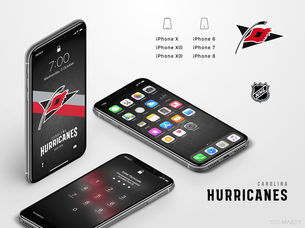 Carolina Hurricanes iPhone Wallpaper