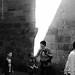 Bilbao life (black & white)