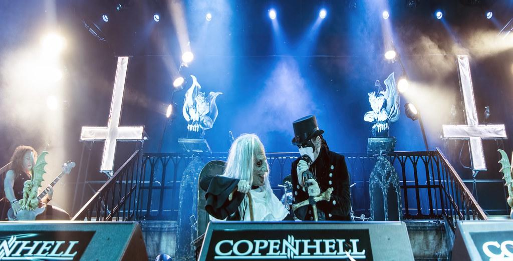 King Diamond (and grandma) @ Copenhell 2016