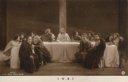 Last Supper in I.N.R.I. (1923)