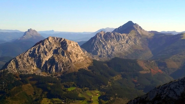 Panorama from Leungane Mountain