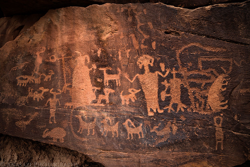 Daddy Canyon Petroglyphs
