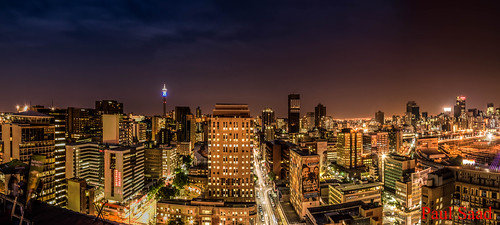 night exposure mayfair pano panorama panoramic johannesburg nikon randlords braamfontein sunset sunrise colors city skapes urban tower skyline architecture outdoor water building complex balconytv hillbrow southafrica flickr