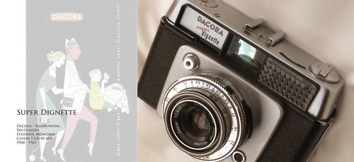 Dacora super Dignette, Steinheil Cassar 2,8/45 - 1960-63