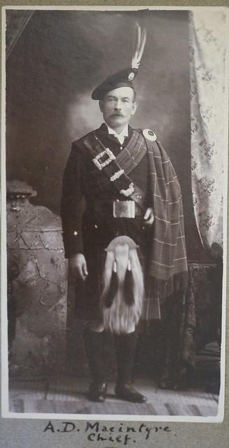 Photograph of Archibald D. Macintyre, c.1902