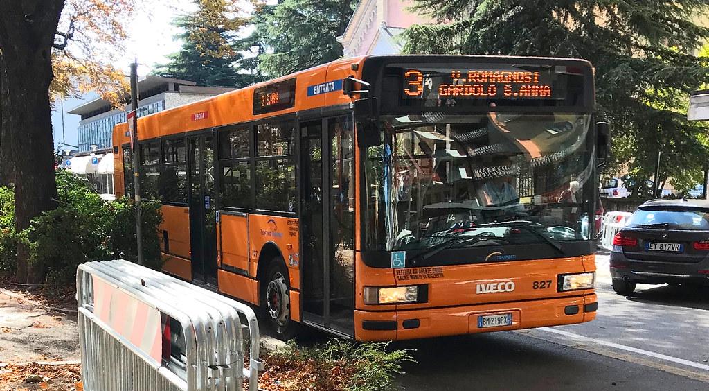 IVECO Cityclass Trentino Trasporti n.827 | Autobus IVECO ...