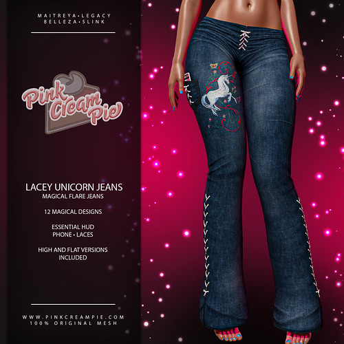 Lacey Unicorn Jeans | by Pink Cream Pie