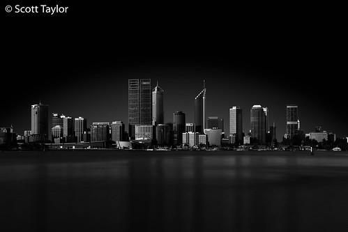 australia canonef24105mmf4lisusm blackwhite cityscape perth longexposure manfrotto canon5dsr monochrome river tripod travel architecture style bw mono lightroom formatthitechfirecrestndfilter westernaustralia au