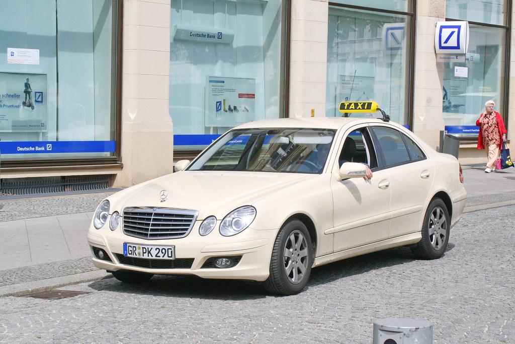 Mercedes Benz W211 Taxi In Gorlitz 20 5 2008 0629 Gorlitz Flickr