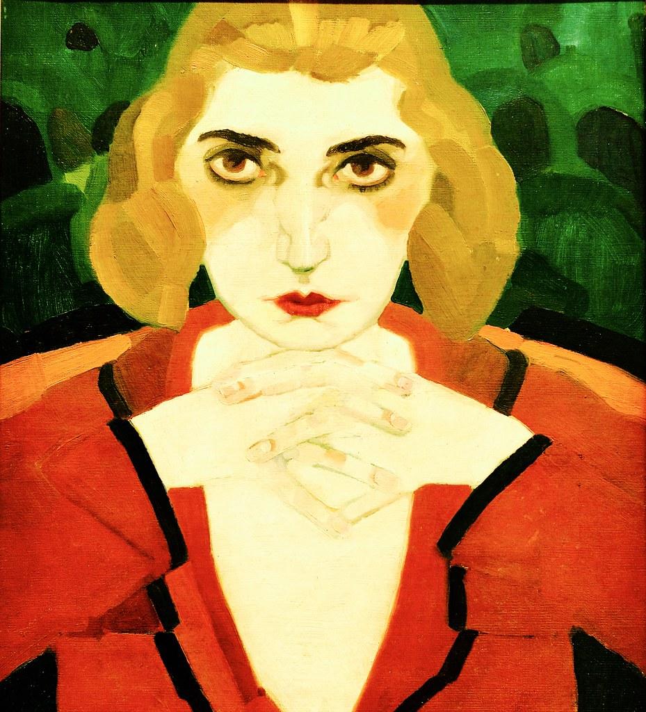 Woman Portrait (1922) - António Soares (1894 - 1978) - Flickr