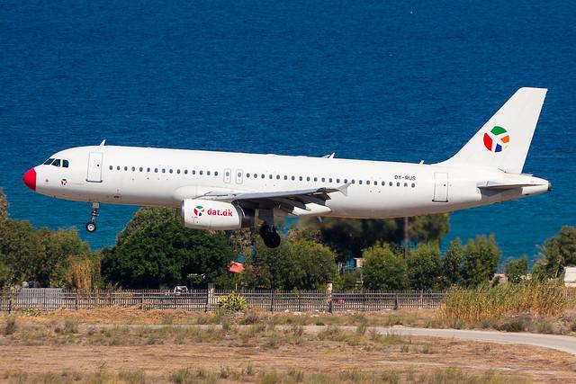 OY-RUS - Danish Air Transport (DAT) - Airbus A320-231