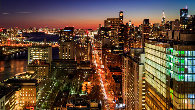 Winter Dusk in Manhattan [in explore 01-01-17]
