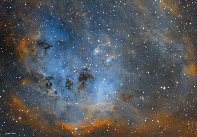 IC 410 - the Tadpoles Nebula in Auriga