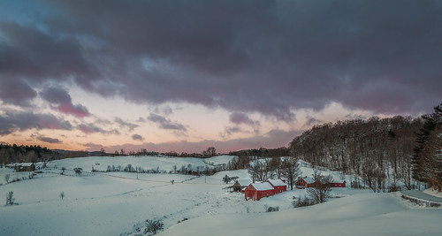 newengland sunrise winter vermont dawn farm morning jclay barn