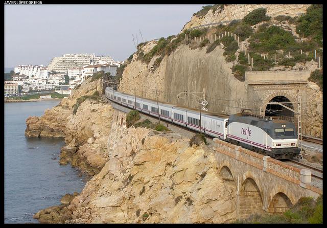 Trenhotel Gibralfaro en Sitges