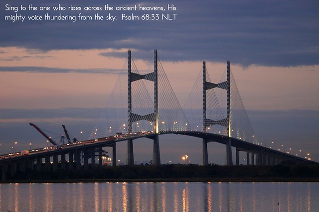 Dames Point Bridge - Fort Caroline/East Arlington area, Jacksonville, Duval County, Florida