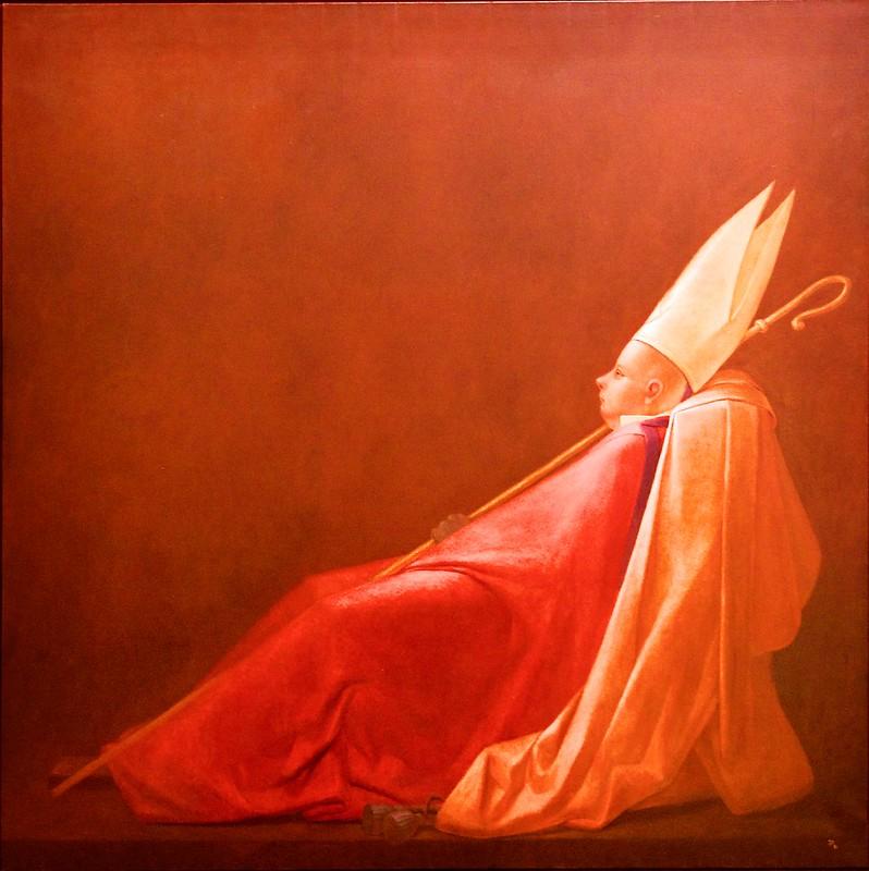 Bishop (Red) (1981) - Jorge Pinheiro (1931)