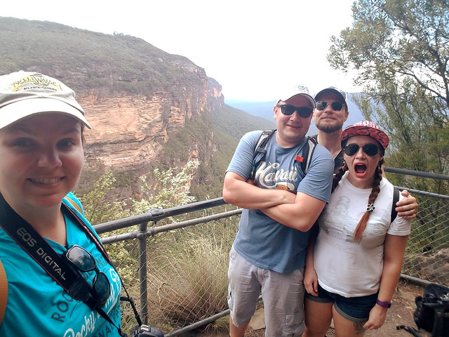 Hiking at Blue Mountains