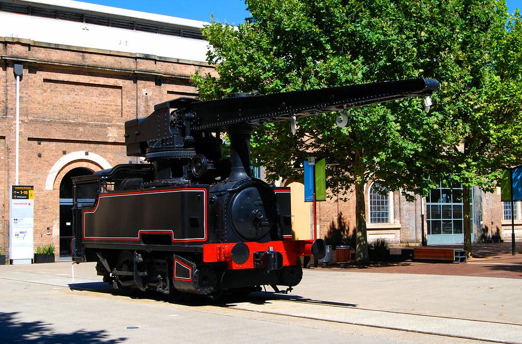 Crane Loco 1083, Eveleigh Technology Park, Eveleigh, NSW.