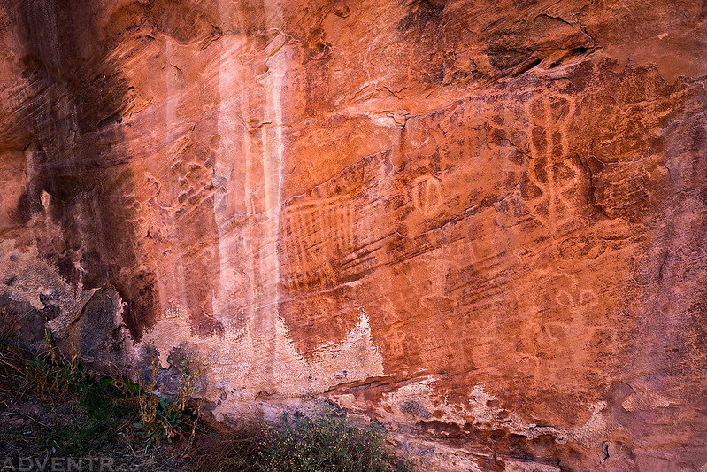 Wall of Petroglyphs