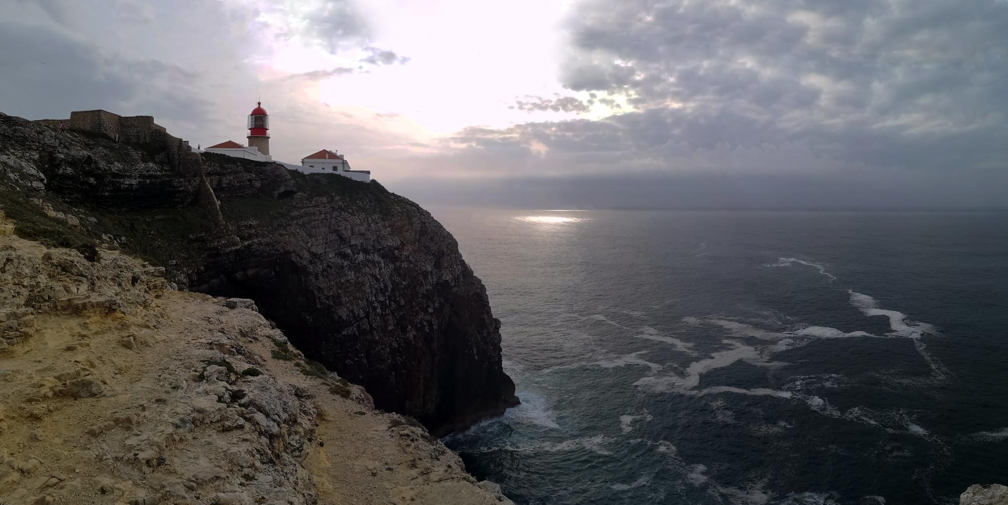 panoramicaFaro Cabo de San Vicente Sagres Algarve Portugal