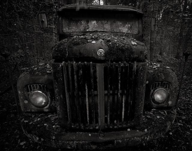 Creepy truck
